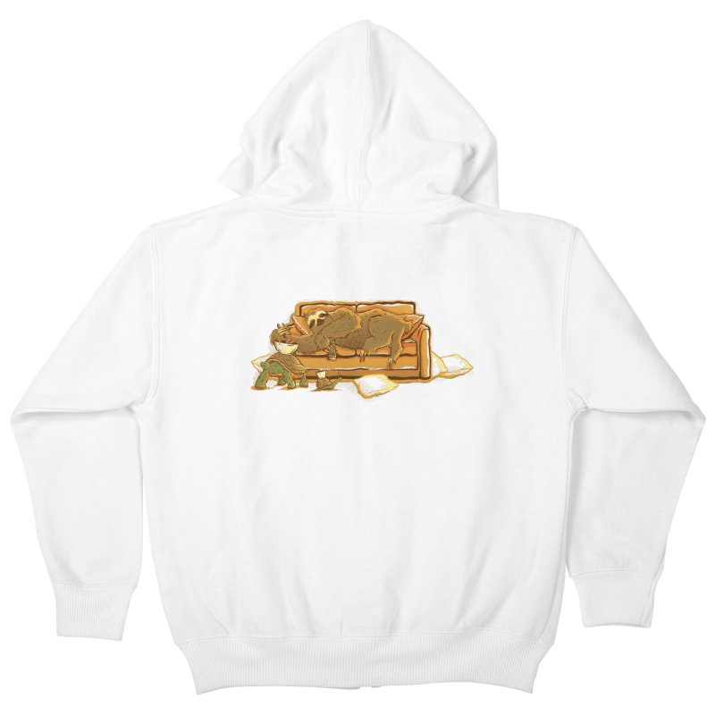 Slow Party Kids Zip-Up Hoody by Taylor Rose Makes Art