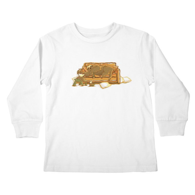 Slow Party Kids Longsleeve T-Shirt by Taylor Rose Makes Art