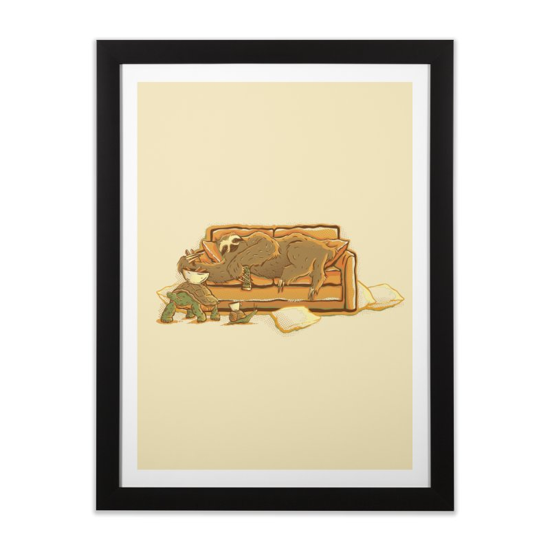 Slow Party Home Framed Fine Art Print by Taylor Rose Makes Art