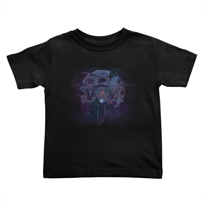 Vampire Jams Kids Toddler T-Shirt by Taylor Rose Makes Art