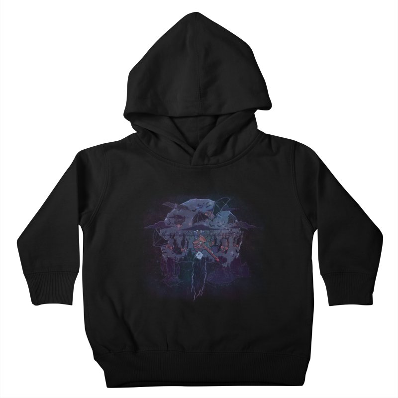 Vampire Jams Kids Toddler Pullover Hoody by Taylor Rose Makes Art