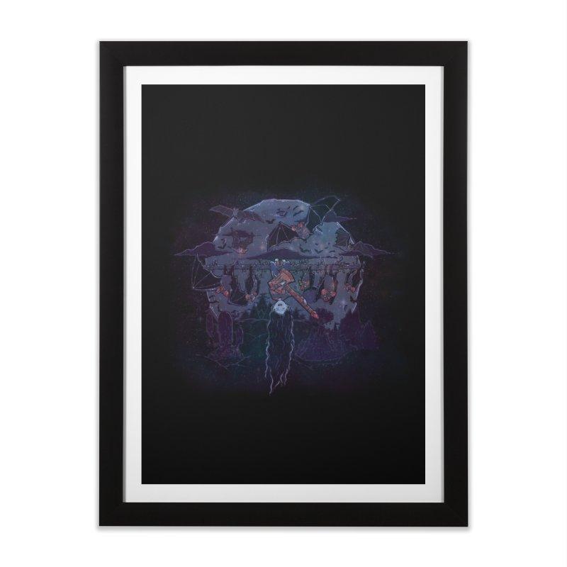 Vampire Jams Home Framed Fine Art Print by Taylor Rose Makes Art