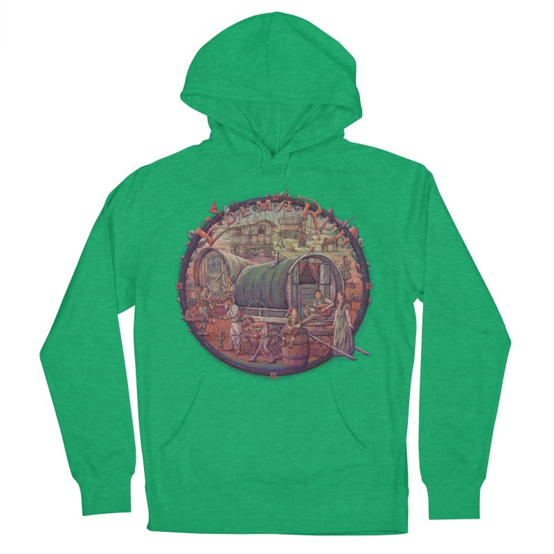 Edema Ruh Men's Pullover Hoody by Taylor Rose Makes Art