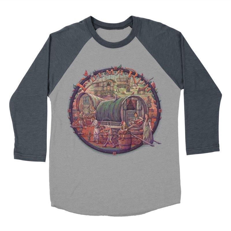 Edema Ruh Men's Baseball Triblend T-Shirt by Taylor Rose Makes Art