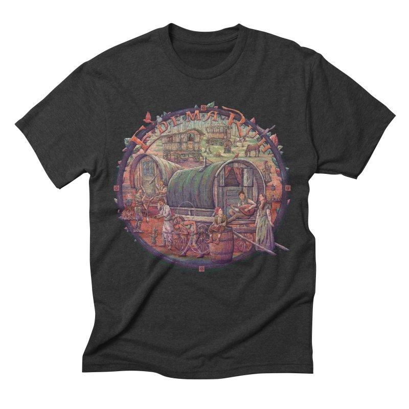 Edema Ruh Men's Triblend T-shirt by Taylor Rose Makes Art