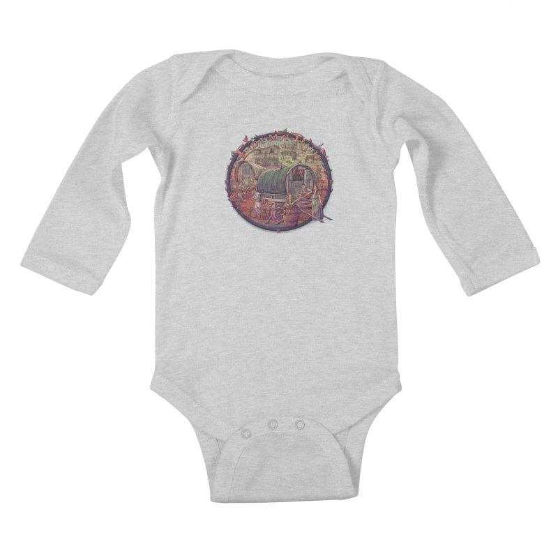 Edema Ruh Kids Baby Longsleeve Bodysuit by Taylor Rose Makes Art