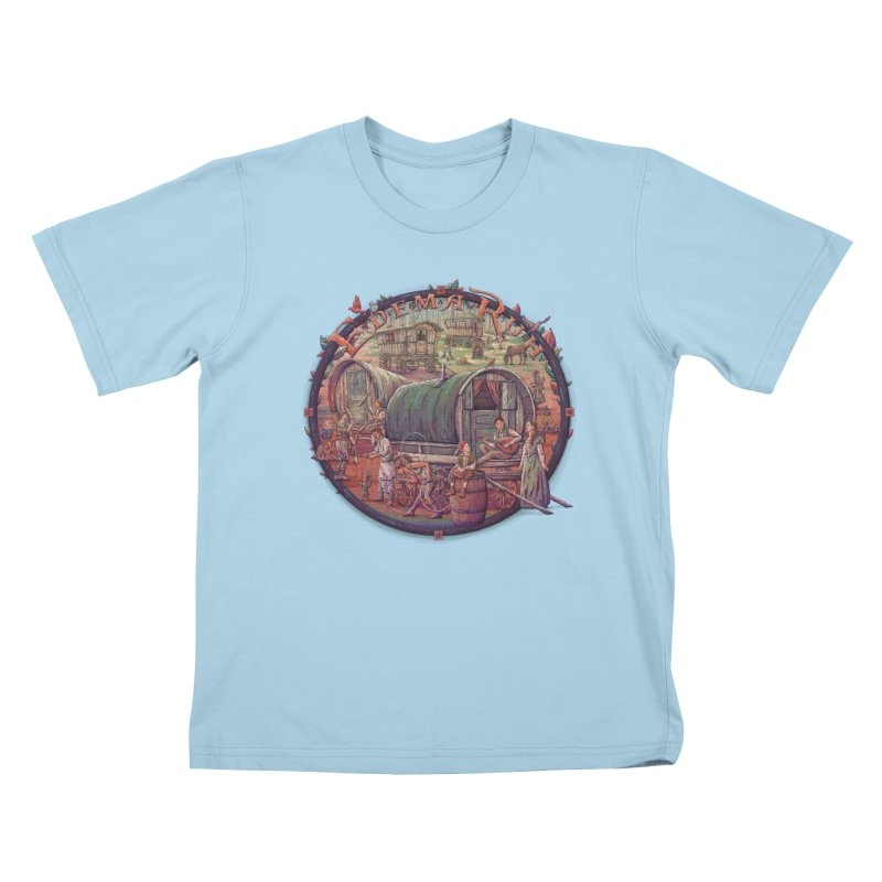 Edema Ruh Kids T-shirt by Taylor Rose Makes Art