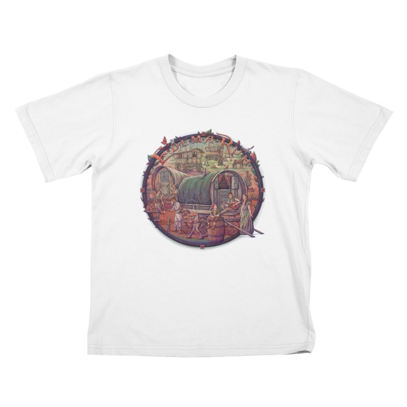 Edema Ruh Kids T-Shirt by Taylor Rose Makes Art