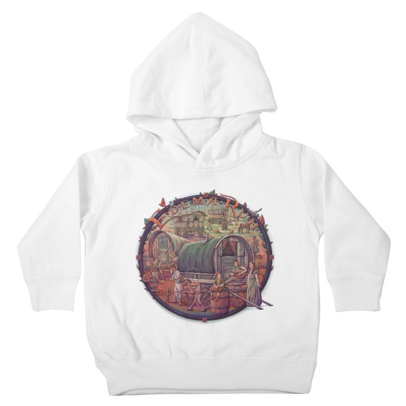 Edema Ruh Kids Toddler Pullover Hoody by Taylor Rose Makes Art
