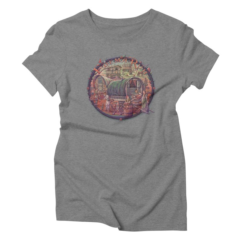 Edema Ruh Women's Triblend T-Shirt by Taylor Rose Makes Art
