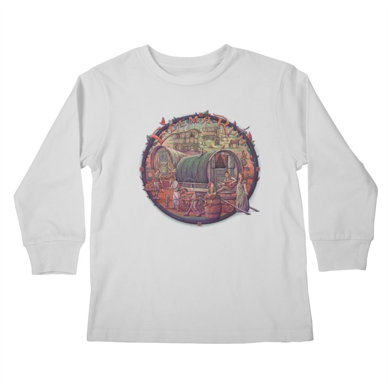 Edema Ruh Kids Longsleeve T-Shirt by Taylor Rose Makes Art