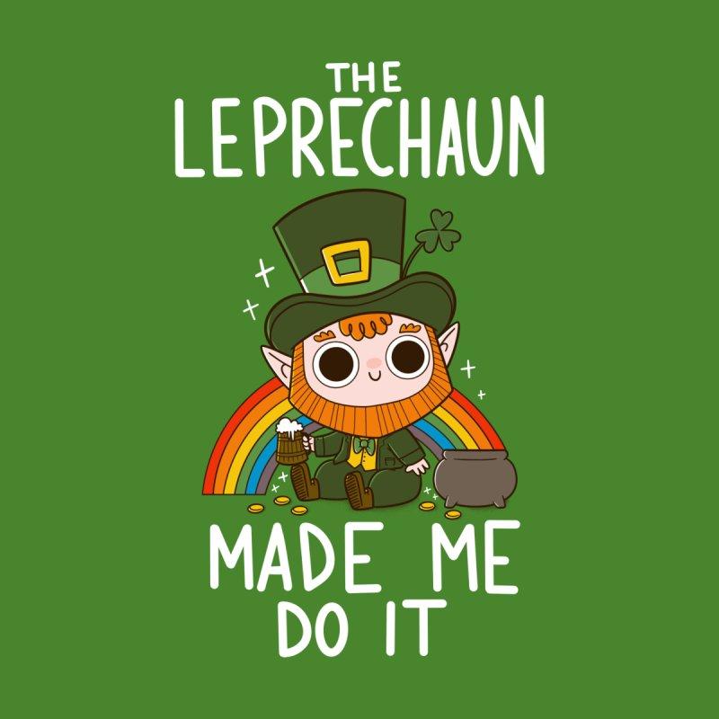 The Leprechaun Made me Do it Men's T-Shirt by taylorross1's Artist Shop