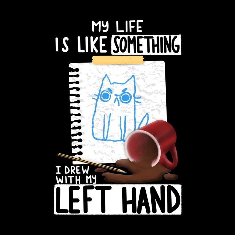 Left Hand Drawing Men's T-Shirt by taylorross1's Artist Shop