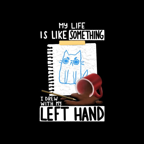 Design for Left Hand Drawing