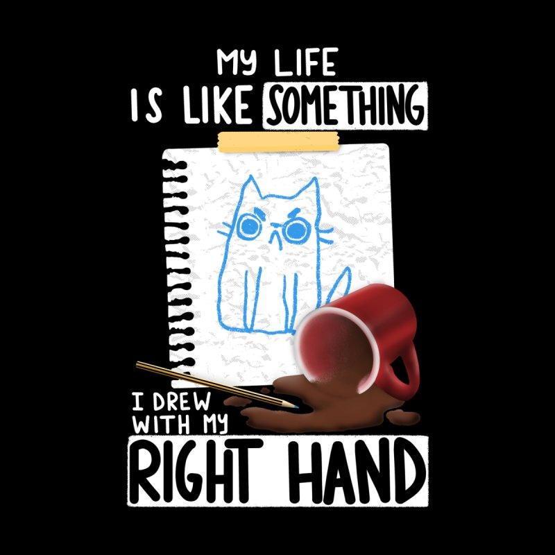 Right Hand Drawing Men's T-Shirt by taylorross1's Artist Shop