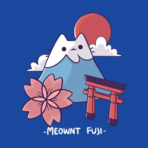 Design for Meownt Fuji