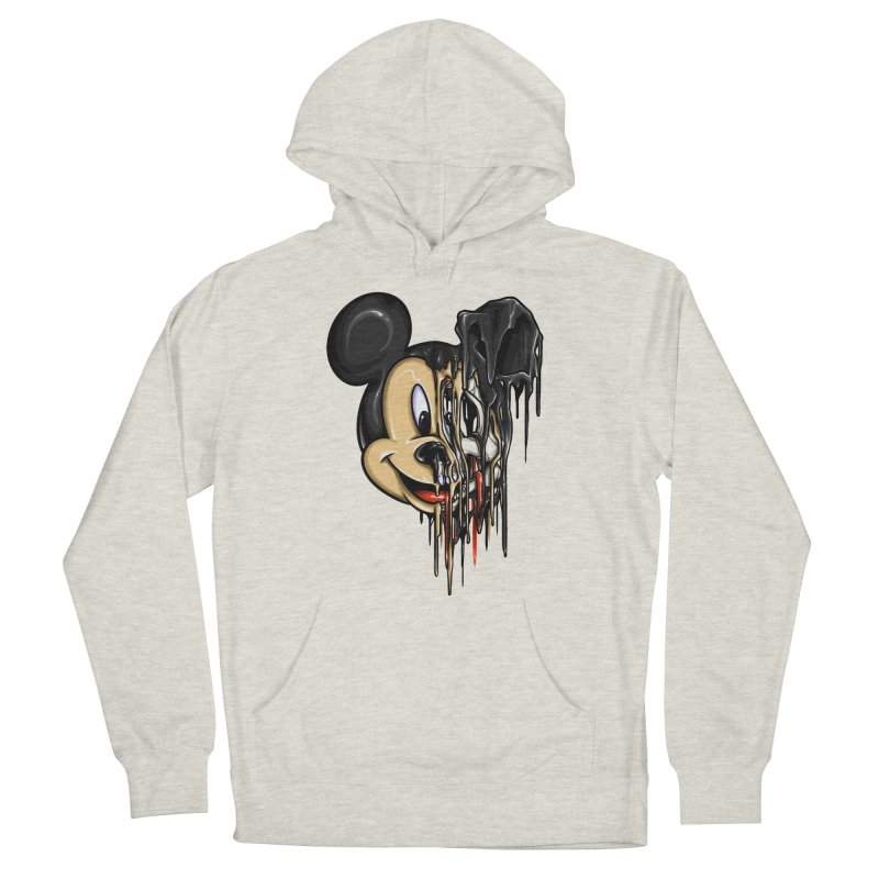 MELTY MOUSE Women's French Terry Pullover Hoody by TBH805