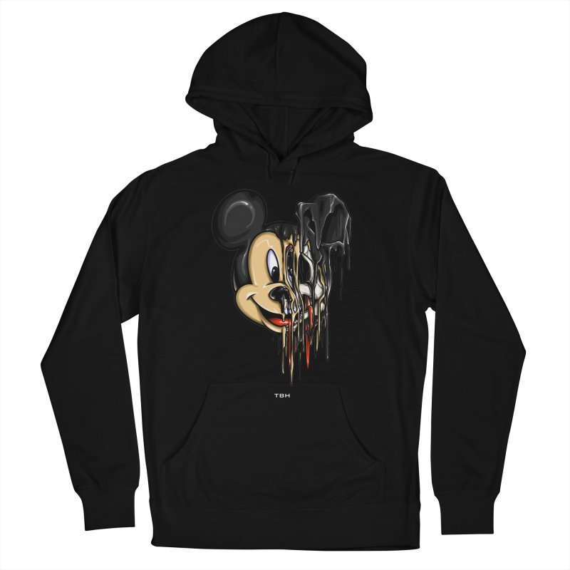 MELTY MOUSE Men's French Terry Pullover Hoody by TBH805