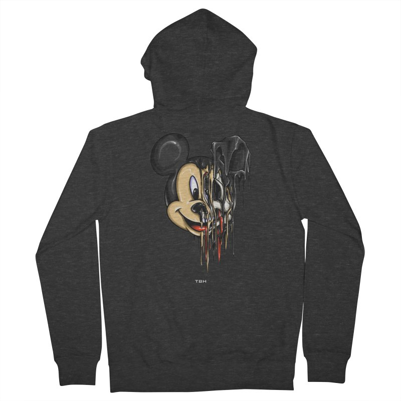 MELTY MOUSE Men's Zip-Up Hoody by TBH805