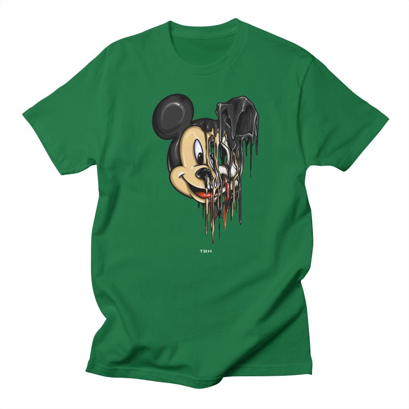 MELTY MOUSE Men's T-shirt by TBH805