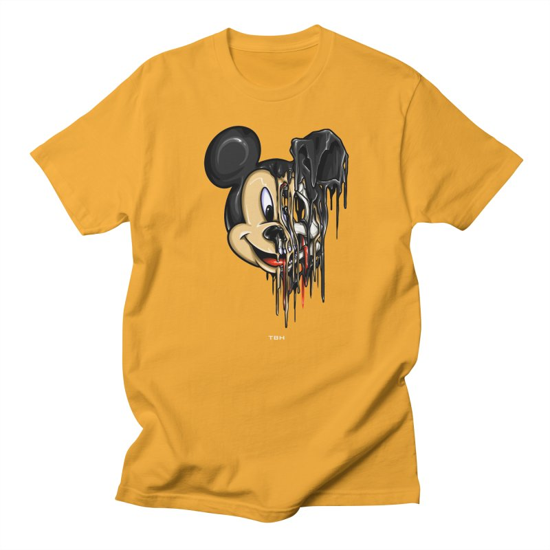 MELTY MOUSE Men's Regular T-Shirt by TBH805