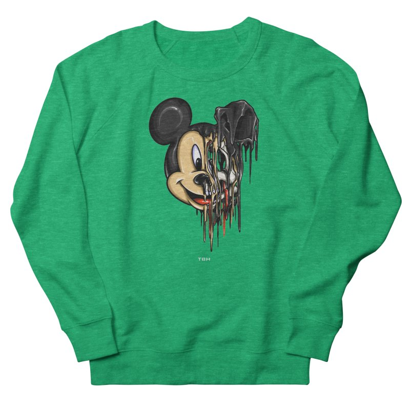 MELTY MOUSE Women's French Terry Sweatshirt by TBH805