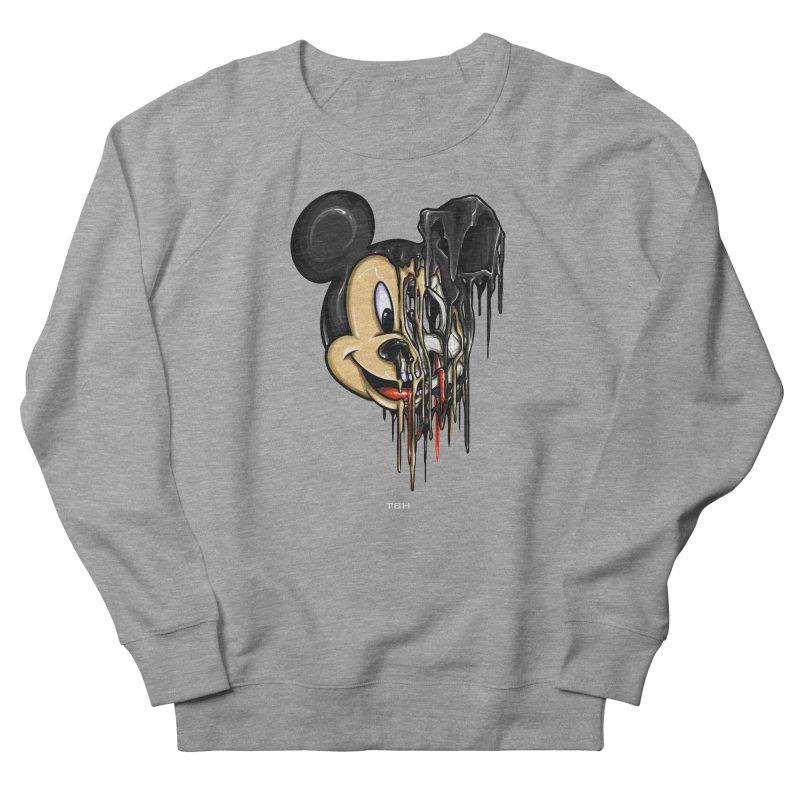 MELTY MOUSE Men's French Terry Sweatshirt by TBH805
