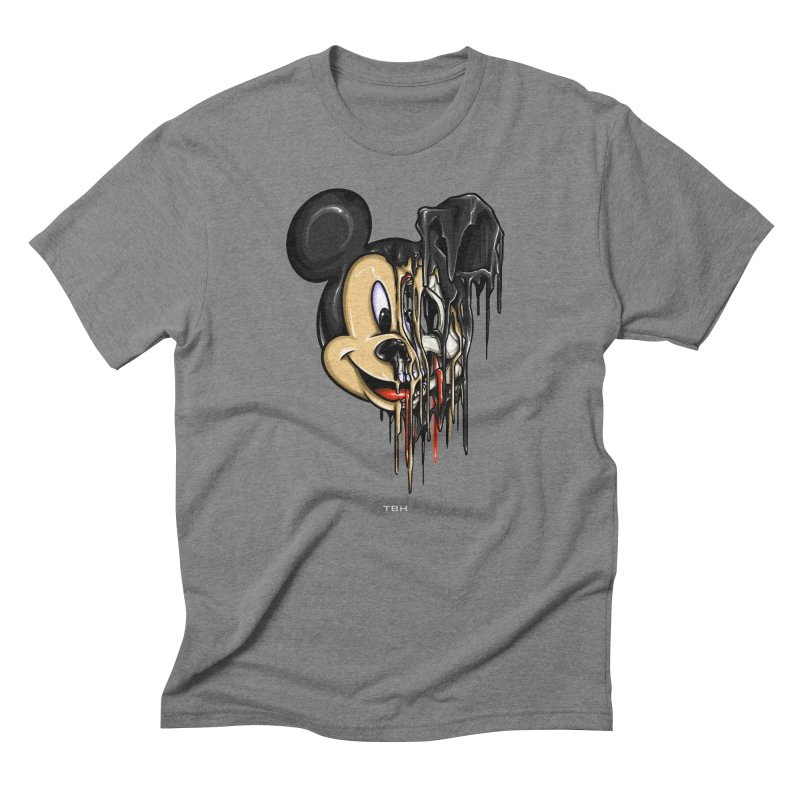 MELTY MOUSE Men's Triblend T-shirt by TBH805