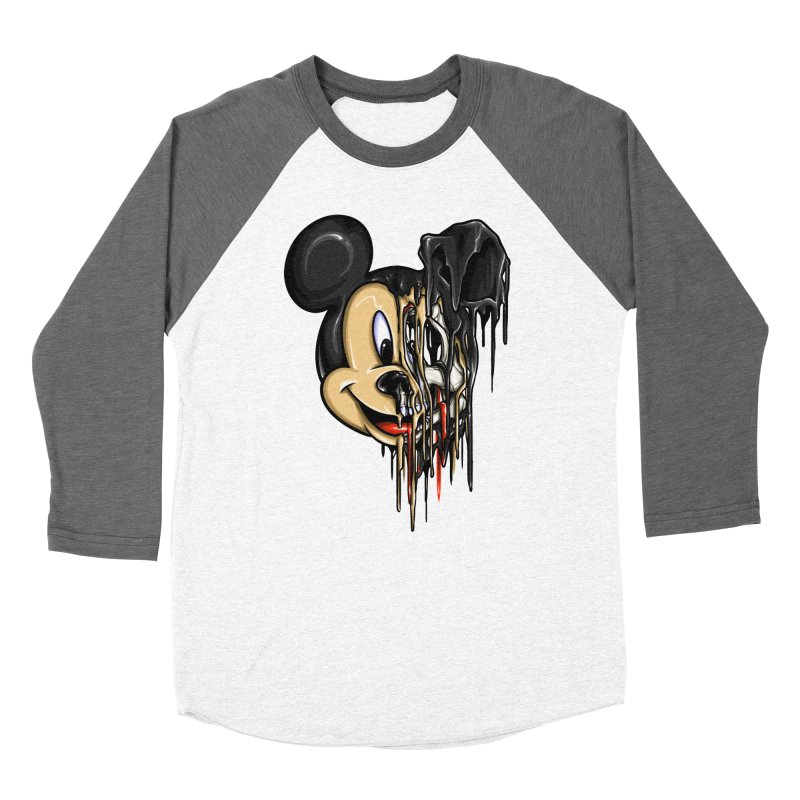 MELTY MOUSE Women's Baseball Triblend Longsleeve T-Shirt by TBH805