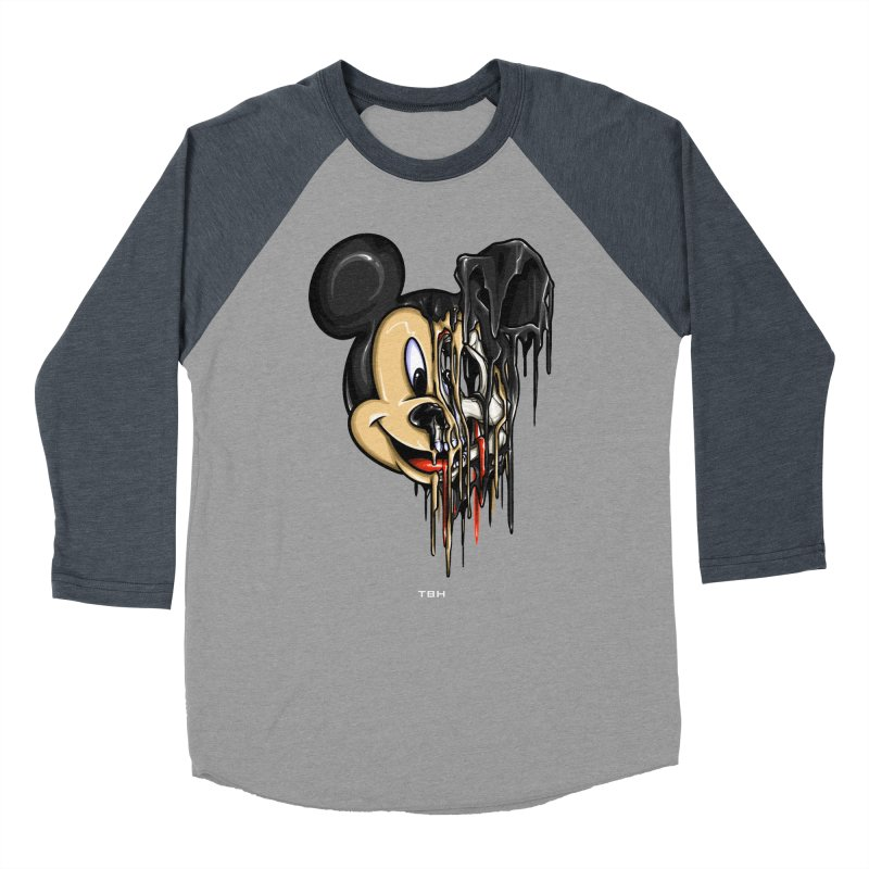 MELTY MOUSE Women's Baseball Triblend T-Shirt by TBH805