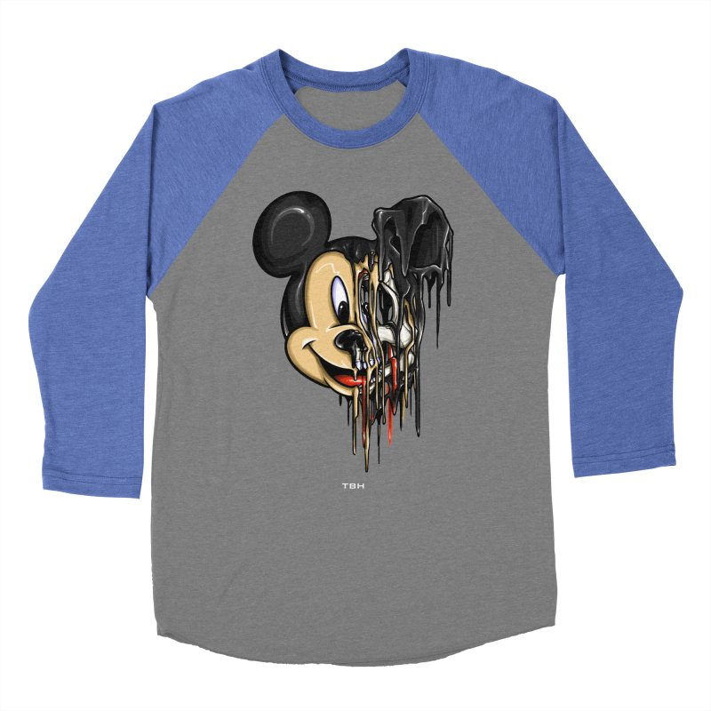 MELTY MOUSE Men's Baseball Triblend Longsleeve T-Shirt by TBH805