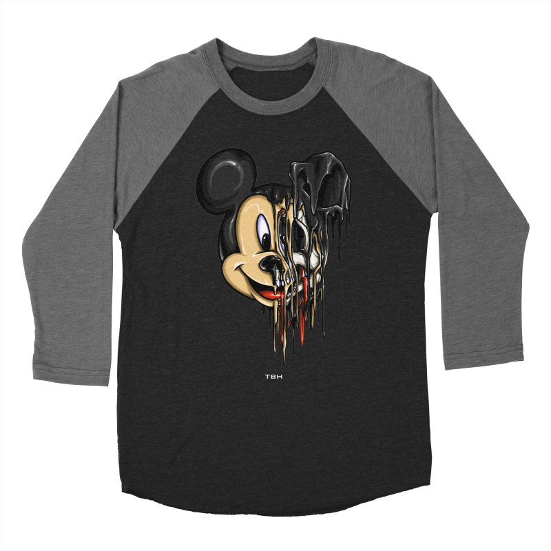 MELTY MOUSE Men's Baseball Triblend T-Shirt by TBH805