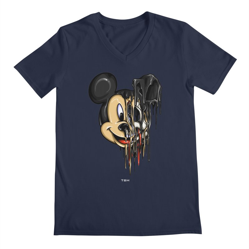 MELTY MOUSE Men's V-Neck by TBH805