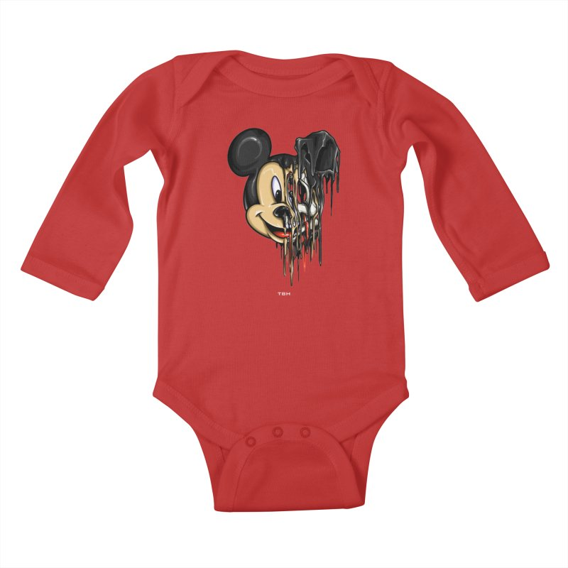 MELTY MOUSE Kids Baby Longsleeve Bodysuit by TBH805