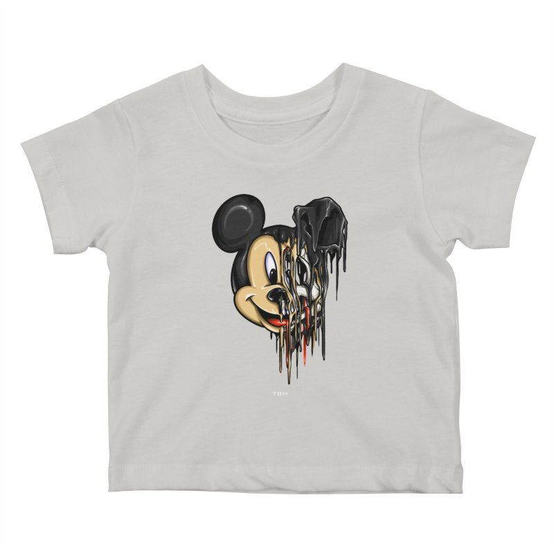 MELTY MOUSE Kids Baby T-Shirt by TBH805