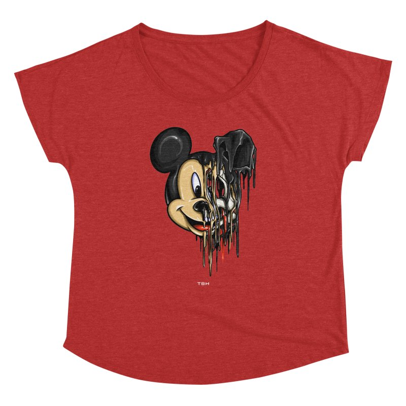 MELTY MOUSE Women's Dolman by TBH805