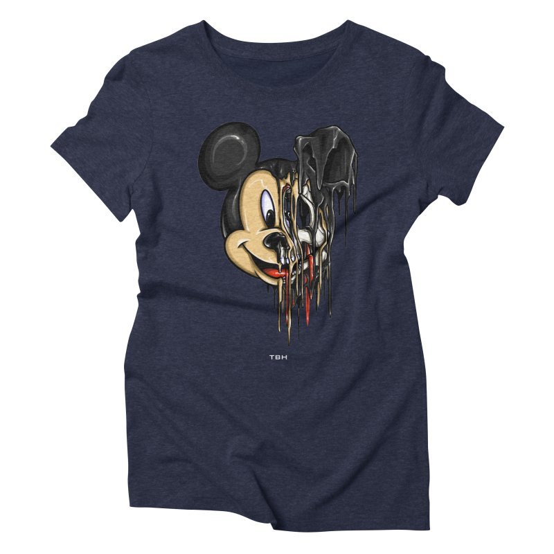 MELTY MOUSE Women's Triblend T-Shirt by TBH805