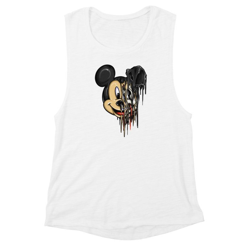 MELTY MOUSE Women's Muscle Tank by TBH805