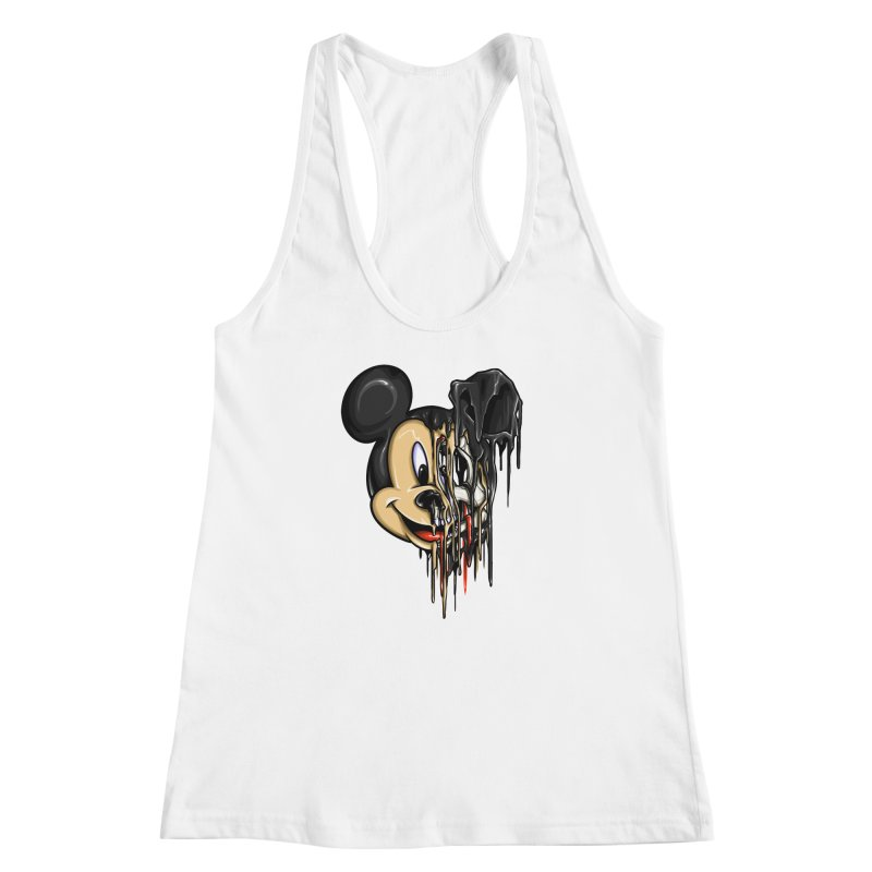 MELTY MOUSE Women's Racerback Tank by TBH805