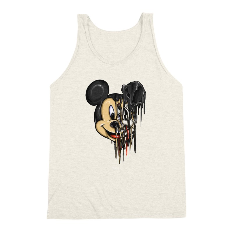MELTY MOUSE Men's Triblend Tank by TBH805