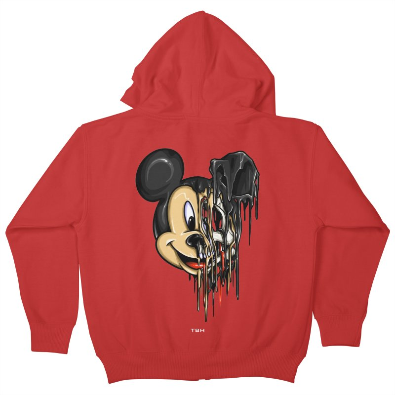 MELTY MOUSE Kids Zip-Up Hoody by TBH805