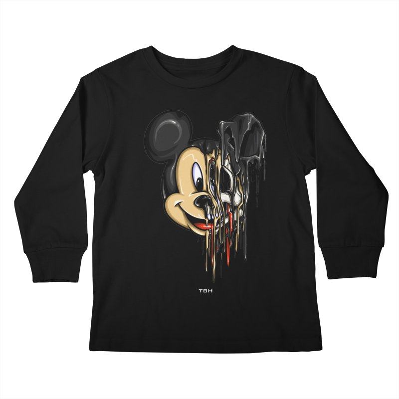 MELTY MOUSE Kids Longsleeve T-Shirt by TBH805