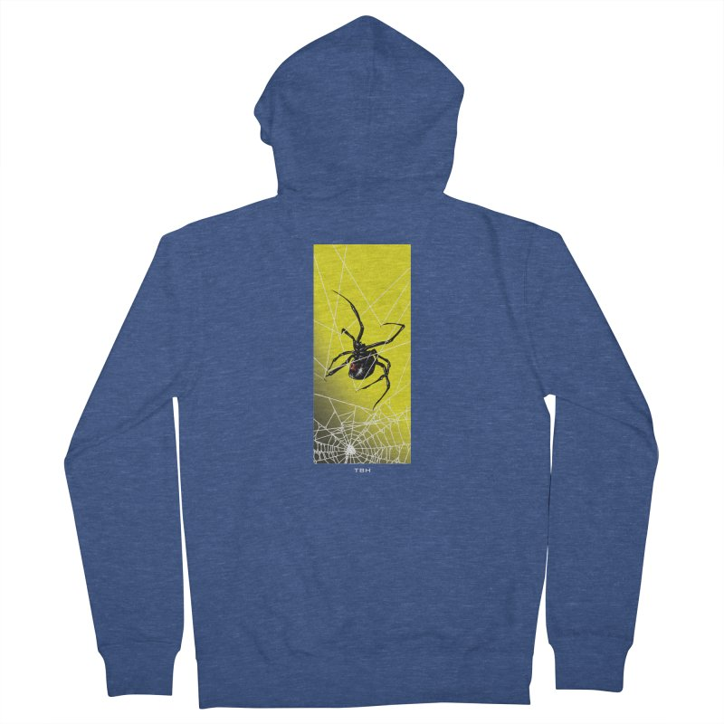 WIDOW 2 Men's French Terry Zip-Up Hoody by TBH805