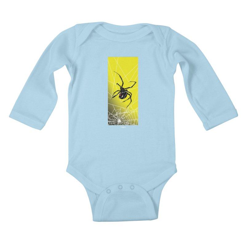 WIDOW 2 Kids Baby Longsleeve Bodysuit by TBH805