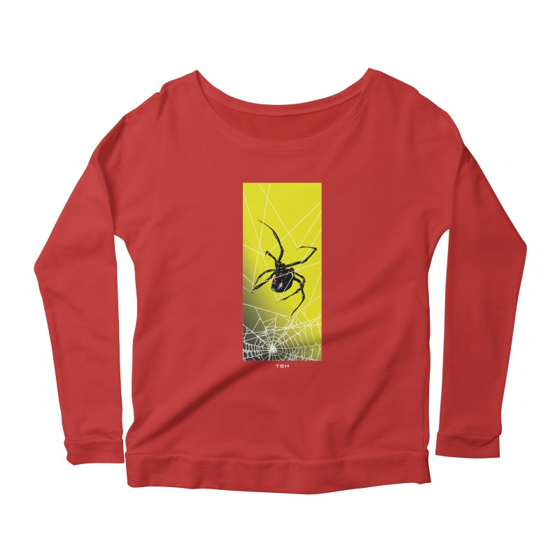 WIDOW 2 Women's Scoop Neck Longsleeve T-Shirt by TBH805