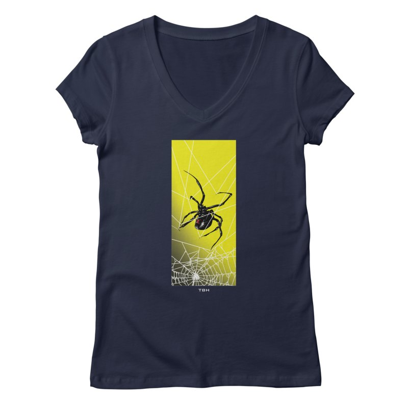 WIDOW 2 Women's Regular V-Neck by TBH805