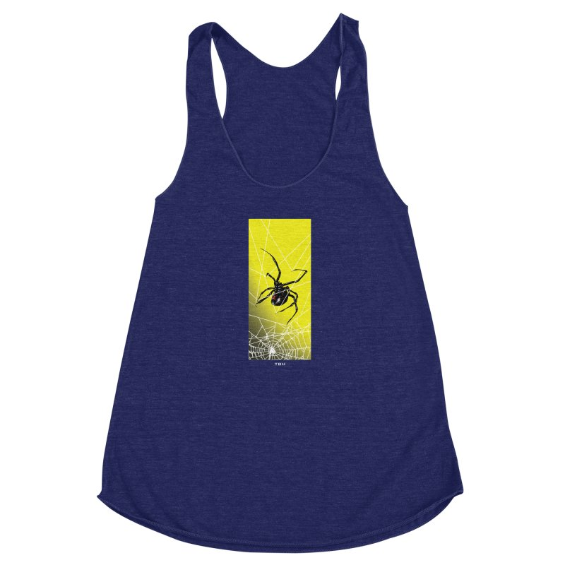 WIDOW 2 Women's Racerback Triblend Tank by TBH805