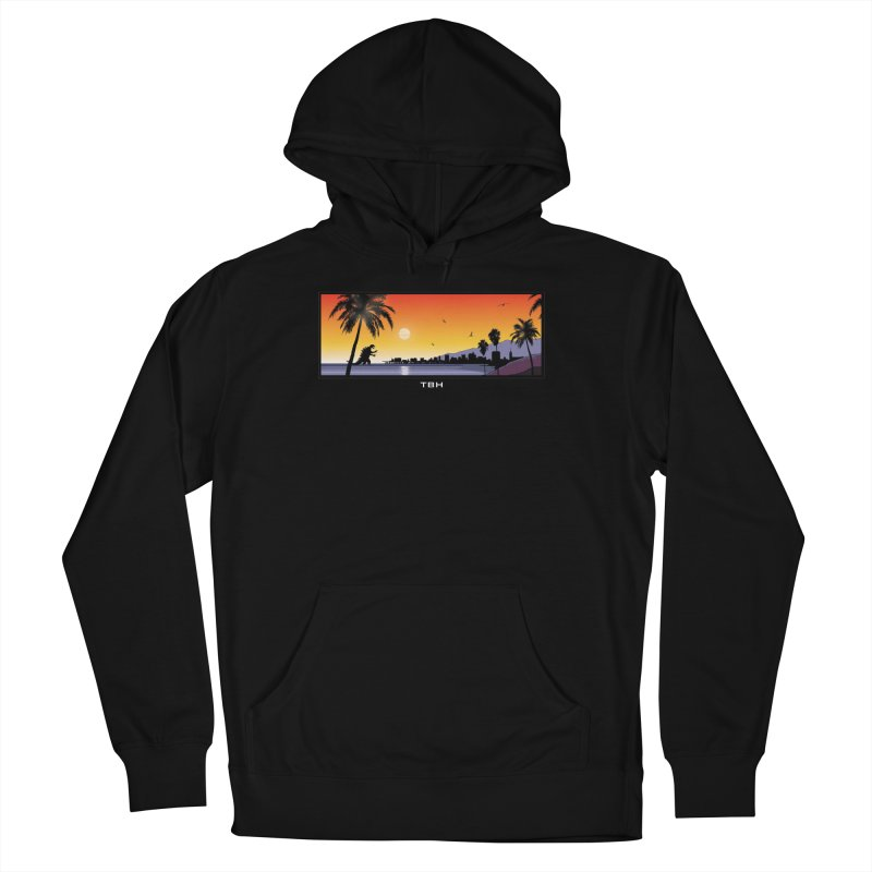GODZIlla Women's French Terry Pullover Hoody by TBH805