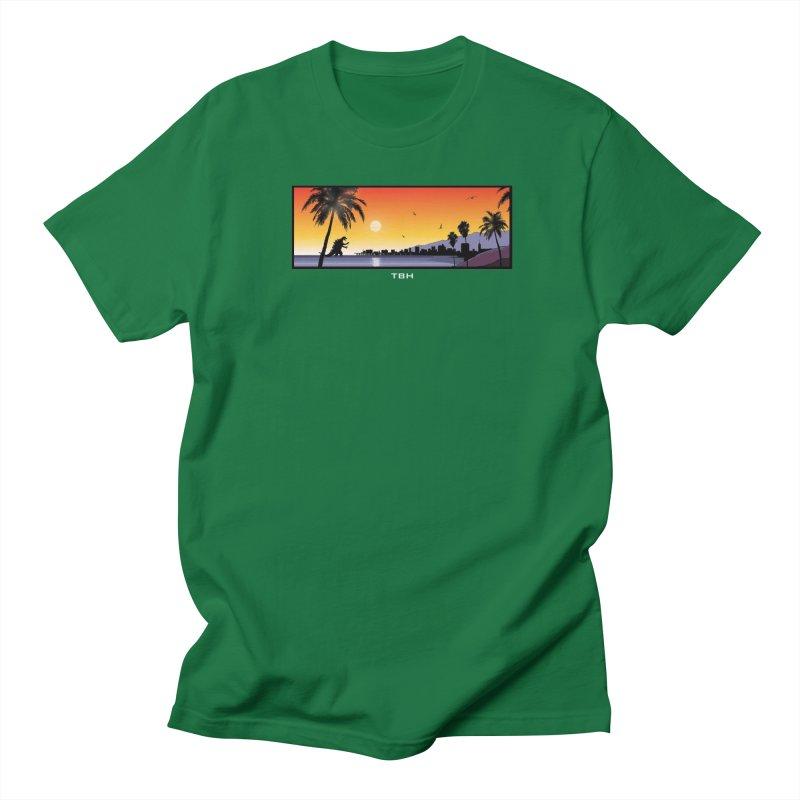 GODZIlla Men's Regular T-Shirt by TBH805