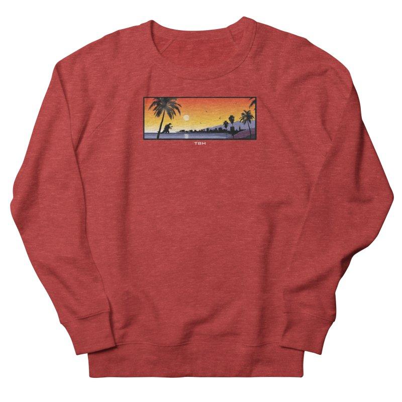 GODZIlla Women's French Terry Sweatshirt by TBH805